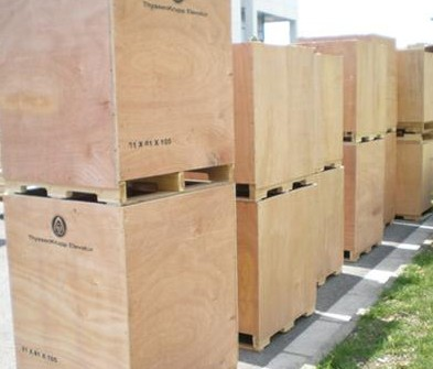出口木箱机柜