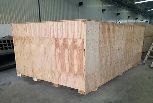 正启机械的出口包装木箱
