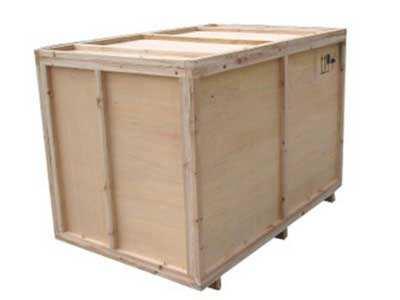 贴标机木箱